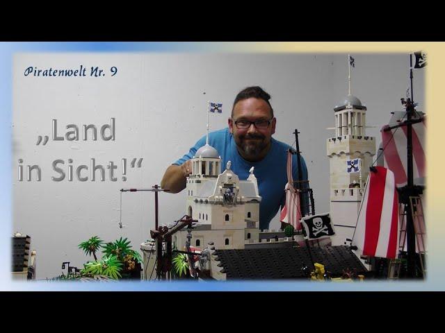 Lego Piraten im Steinekeller # 9 - Land in Sicht ! Eine Piratenwelt entsteht...
