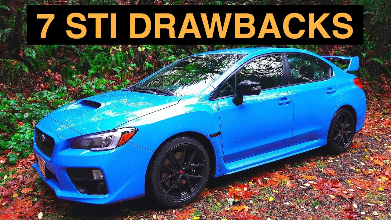 7 Reasons Not To Buy The 2016 Subaru WRX STI - YouTube