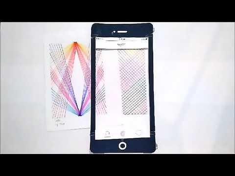 Paper Prototype Design of Application Tinder for Art - wydr
