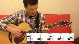 Урок игры на гитаре . Урок Ак-1 Бой и Аккорды.