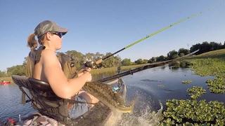 Woman Ambushed By Fish
