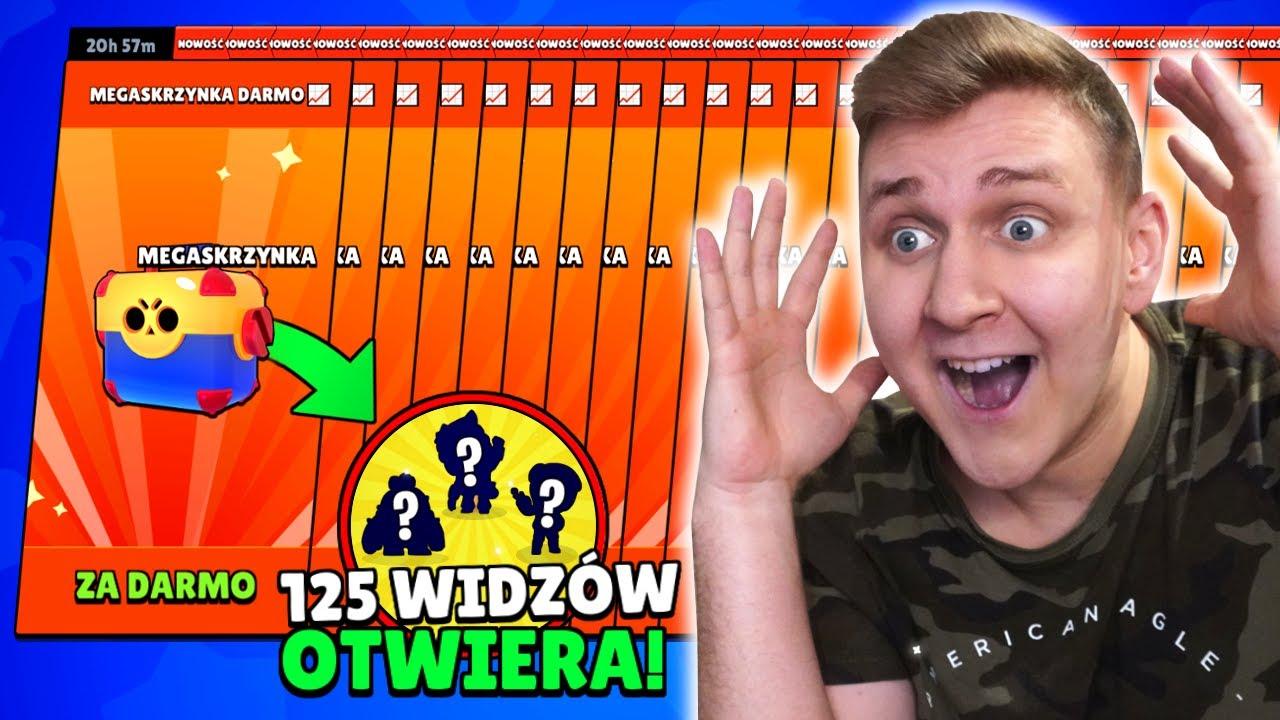 125x MEGA BOX ZA DARMO! WIELKI BRAWL STARS OPENING z WIDZAMI! *3 LEGENDY!* + 54 NOWYCH ZADYMIARZY🤯!