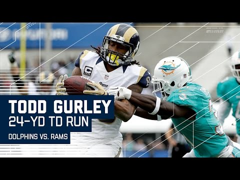 Jared Goff Fires to Kenny Britt & Sets Up Todd Gurley