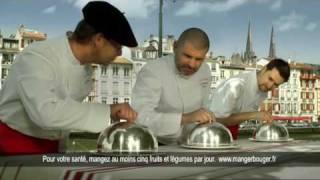 Alain DARROZE, Christian ETCHEBEST, Xavier ISABAL et le JAMBON de BAYONNE