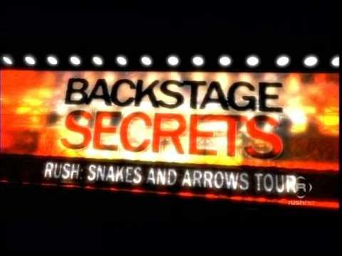 RUSH S&A Tour - Concert Tech Documentary - Part 1/6