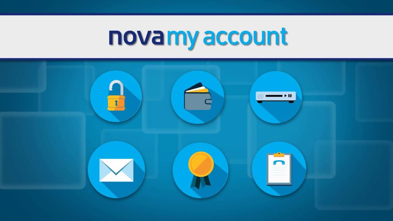 Νοva My Account!