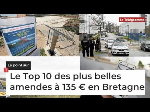 Confinement. Le Top 10 des plus belles amendes à 135 € en Bretagne