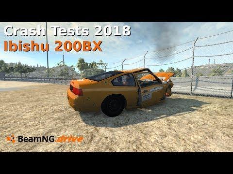 Crash Tests 2018 | Ibishu 200BX | Slow Motion | BeamNG.drive Gameplay