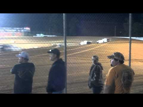 Caleb Dillard at Ark-La-Tex Speedway 4-12-2012