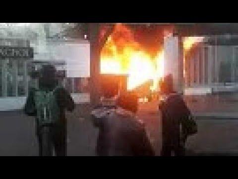 Blocage du lycée Marcel-Pagnol à Marseille : des poubelles incendiées