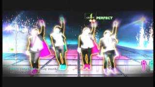 Just Dance 4 Gameplay(What makes you beautiful - One Direction)
