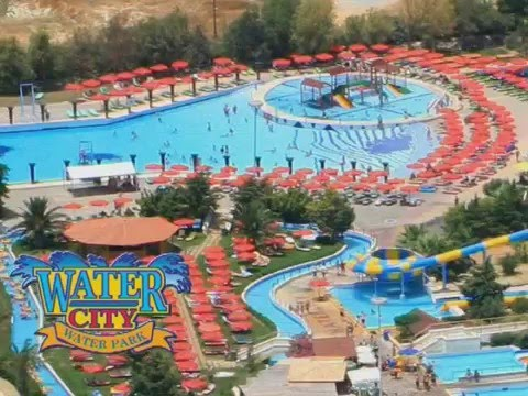 Watercity waterpark crete - YouTube