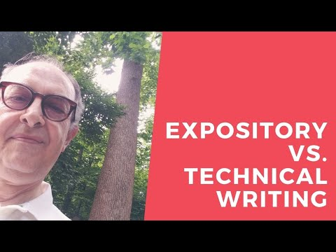 Difference Between Expository & Technical Writing