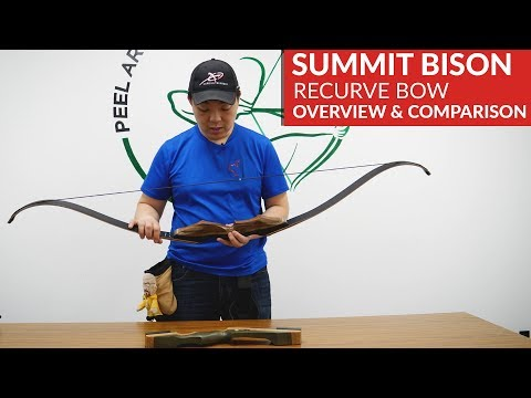 Summit Bison Takedown Recurve Bow By Samick - Overview & Comparison