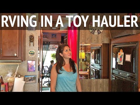 5 Years of RV Living in a Toy Hauler with 2 Cats