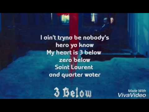 SAINt JHN - 3 Below(Lyrics)