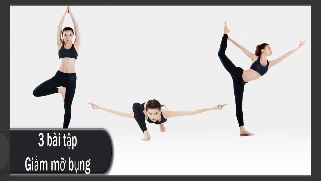 3 bài tập giảm mỡ bụng cấp tốc trước khi đi ngủ cho eo thon, dáng đẹp I Tập yoga giảm cân
