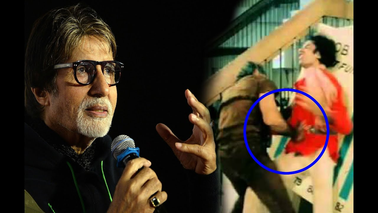 Image result for Amitabh Bachchan In 'Coolie accident