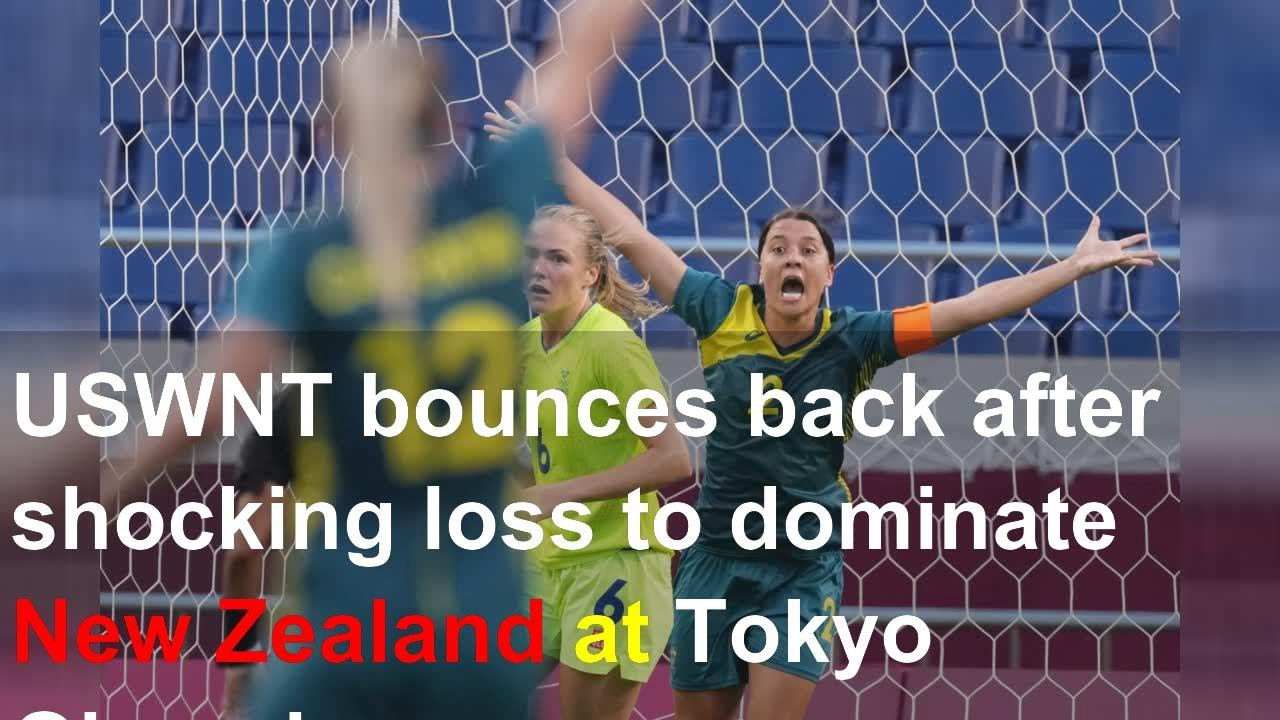 USWNT bounces back after shocking loss to dominate New Zealand ...