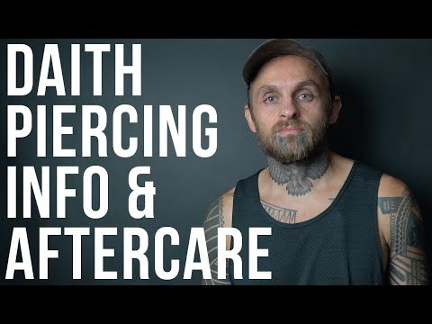 Daith Piercing Info & Aftercare | UrbanBodyJewelry.com