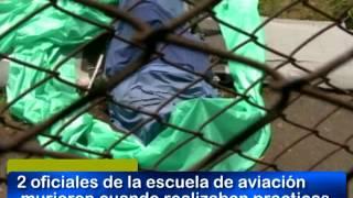 14 MARZO 2012 - ACCIDENTE  DE AVIONETA DEJA DOS MUERTOS