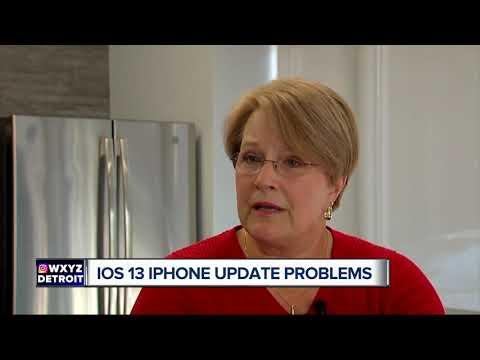 IOS 13 IPhone Update Problems