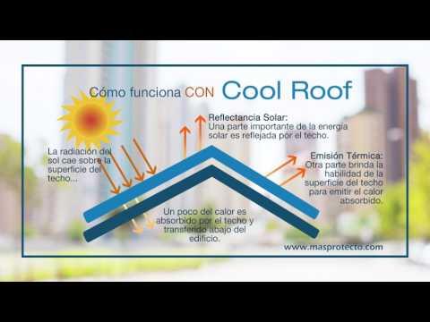 Reduce el calor con un Techo Fresco o Cool Roof
