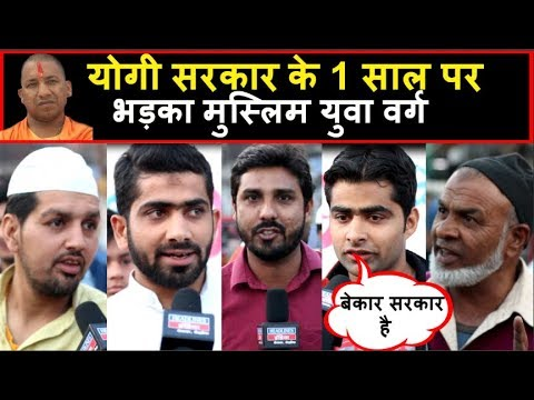 Public Opinion on CM Yogi's 1 Year Government in UP | Youth की राय | Headlines India