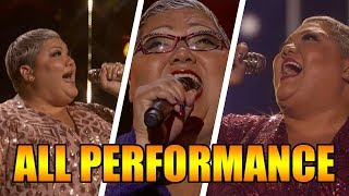 Christina Wells America's Got Talent 2018 Semifinalist ALL Performances|GTF