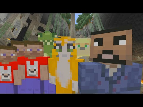 Minecraft Xbox - Battle VS. 4JStudios w/Stampy, Toycat, Ecko!