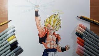 Drawing Gogeta Super Saiyan | SSJ