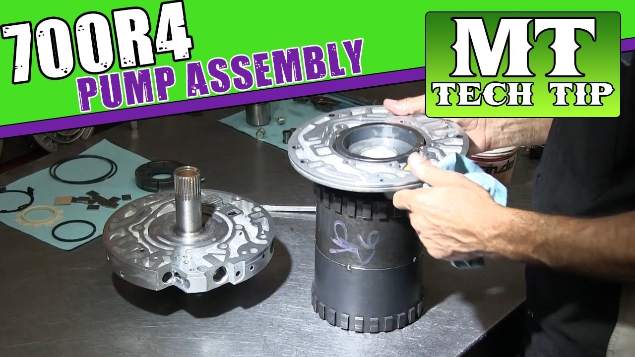 700R4 Pump Assembly built by Luis | Monster Transmission - YouTube