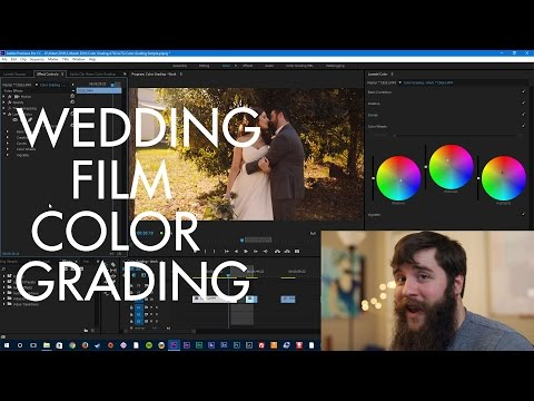 How to EASILY color grade Sony A7Sii, FS5, and a6300 footage using Premiere Pro CC