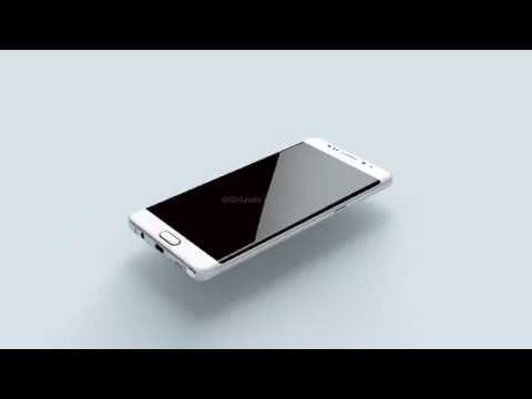 Samsung Galaxy Note 6 leaked renders - uSwitch.com