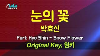 박효신(Park Hyo Shin) - 눈의 꽃 노래방 …