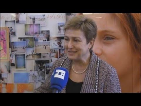 La búlgara Kristalina Georgieva, candidata europea a dirigir el FMI