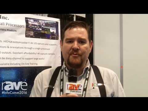 InfoComm 2016: ICS Technology Shows Line of Video Wall Processors Technology