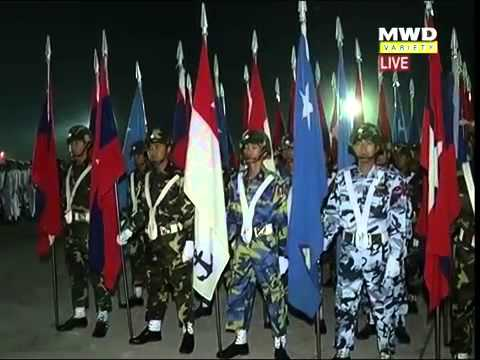 69th Anniversary Armed Forces Day Parade, Myanmar Part(1)