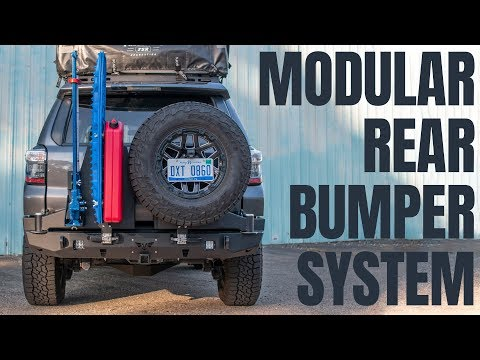 5th Gen 4Runner Modular Rear Bumper System Overview