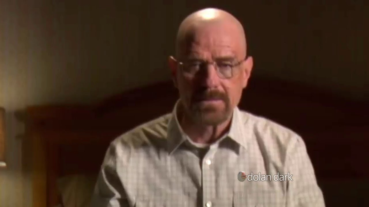 Walter White has a confession to make