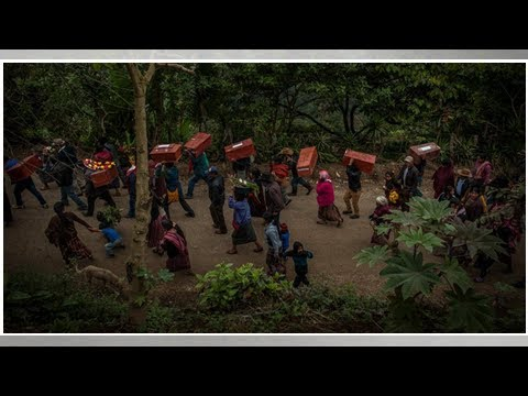 Box TV - The victims of guatemala's civil war, was laid to rest, 3 decades later