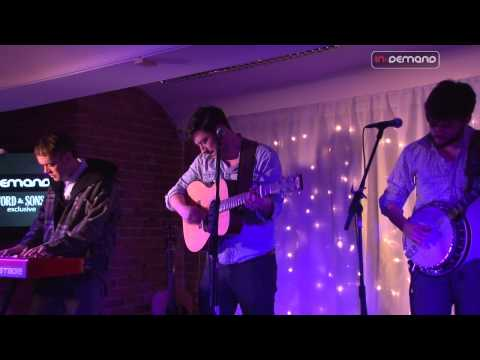 Mumford & Sons - White Blank Page - Live Session