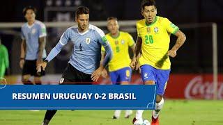 Uruguay vs Brasil (0 - 2): resumen del partido – Eliminatorias Sudamericanas