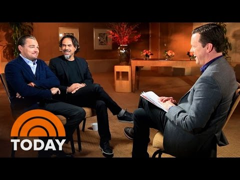 Leonardo DiCaprio Goes Into The Wild In 'The Revenant' | TODAY