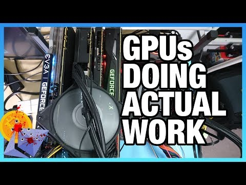 GPUs Doing Actual Work: Quad-GPU Render Machine