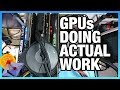 GPUs Doing Actual Work: Quad-GPU Render