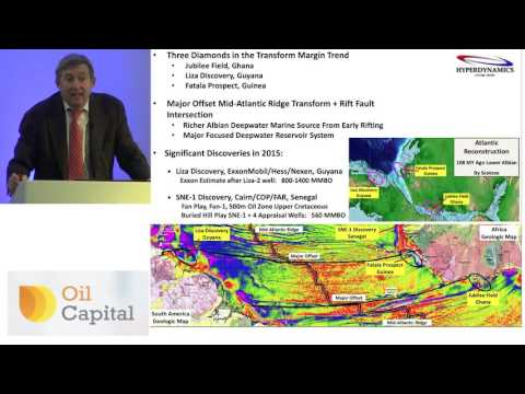 HyperDynamics CEO Ray Leonard presents at Oil Capital Conference - 21st September 2016