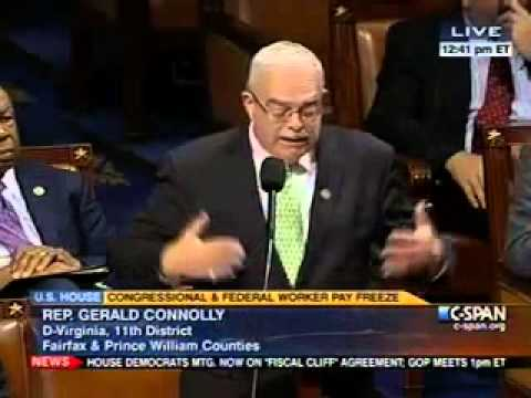 Connolly Fights Proposed Federal Employee Pay Freeze