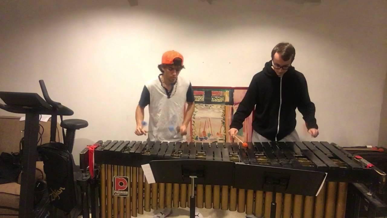 Undertale - Megalovania (marimba duet)