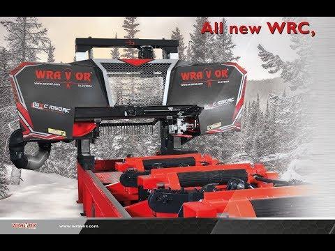 Thin-cutting full auto band saw WRC 1050 FURNIR / WRAVOR veneer resaw